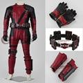 Por encargo de la película Deadpool Cosplay traje X-Men Deadpool accesorios Cosplay Halloween para adultos D0301