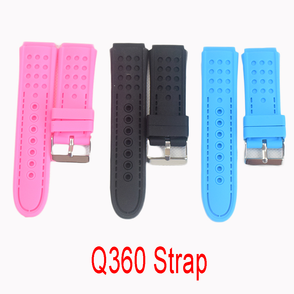 Watchbands Smartwatch Q360 Strap Baby Watch Kid Watch Smart Watch Bands Strap Belt high quality new fashion 47 42mm 1 85 1 65 inches the flower of life the seed of life key chains fashion keyring