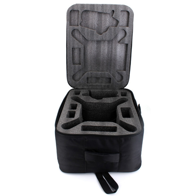 Phantom 3 Waterproof Portable Nylon Carrying Case Backpack Shoulder Bag Suitcase Box Black For RC Camera Drone FPV