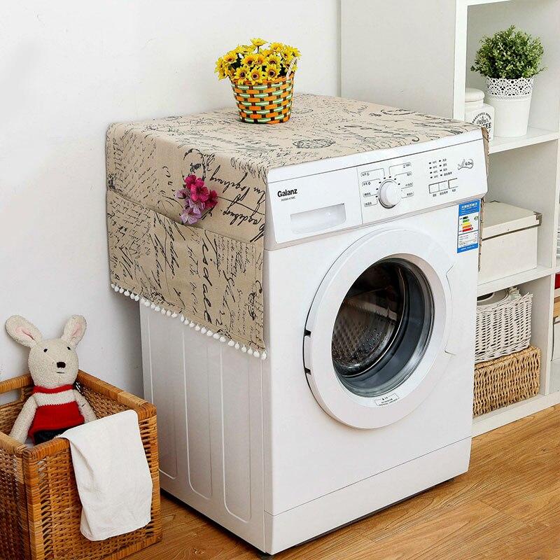 Геометрическая стиральная машина Пылезащитная Крышка для кухонного холодильника пылезащитные чехлы с сумкой для хранения чистящие аксессуары чехол - Цвет: L