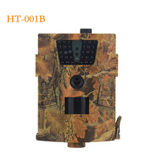 HT001B Trail Camera 30pcs Infrared LEDs scout Night Hunting Camera 120 Degree PIR 12MP Forest Waterproof Wild Camera photo traps