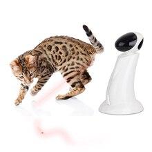360 Градусов Автоматическое Interactive Dart Лазерного Света Упражнения Тизер Веселое Упражнение Пэт Лазера Игрушка Для Кошки Собаки