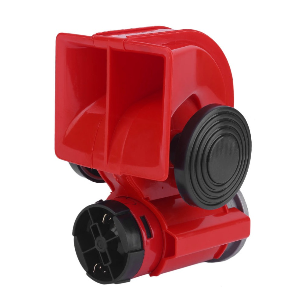 Universal Electric Super Loud Dual Tone Air Blast Horn Loudspeaker 12 V 150dB For Motorcycle Car Truck RV Train Boat 12v dual tone trumpet super loud electric pump air horn for car truck train