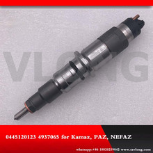 цена на Diesel Fuel Common Rail Injector Assembly 0445120123 4937065 for Cummmins ISBe ISDe DONGFENG KAMAZ