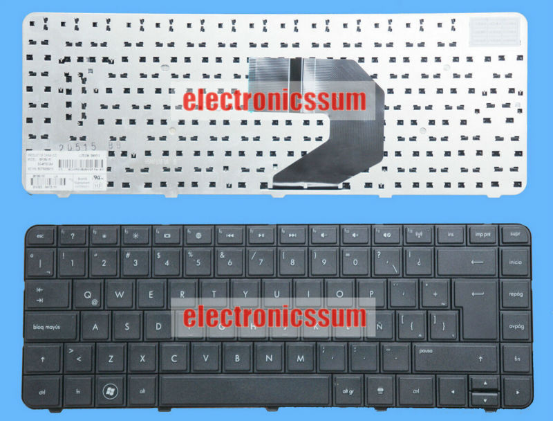 NEW FOR HP Compaq CQ43-416LA CQ43-417LA Keyboard Latin Spanish Teclado