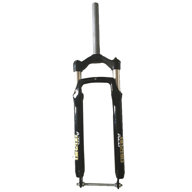 US $50 0 |DHL Shipping Fat Fork Snow Bike 26 20 inch Suspension Locking  Fork For 26*4 0 20*4 0 Tire Fat Bicicleta Spread 135mm-in Bicycle Fork from