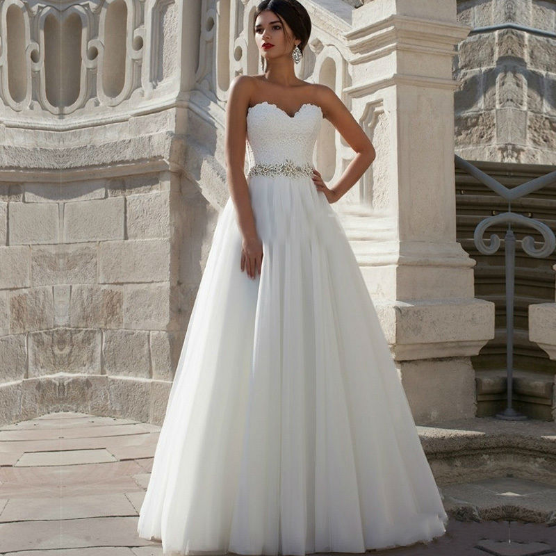 Popular Puffy Bridal Wedding Dresses-Buy Cheap Puffy Bridal ...