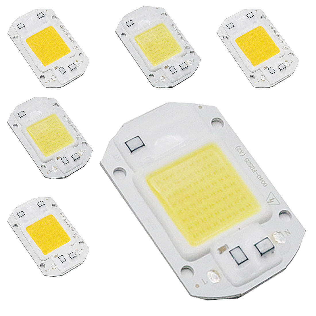 AC110V SMD 20W 30W 50W White/ Warm White With Smart IC High Power DIY Outdoor Floodlight Spotlight LED COB Chip Flood Light Lamp