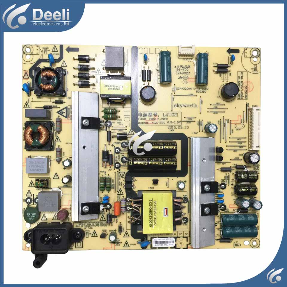 good Working original used for power supply board L4U021 168P-L4U021-06 5800-L4U021-0600 original 32s12hr 32k03hr 32l05hr power supply board 168p p32alk 00 10