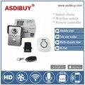Fábrica de vender diretamente wi-fi inteligente carrilhão de campainha de vídeo com interior/desbloquear o dispositivo sem fio/controlador remoto para a sua casa