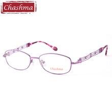 Chashma Brand Designer Female Frame Lentes Opticos Gafas Quality Alloy Light Eyeglasses Women Full Frames Eyeglass