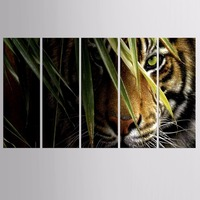 Framed Printed Animals tiger Painting Sitting Room Decor Print Poster Picture Canvas Painting Home Decoration LT-ZTA- BH