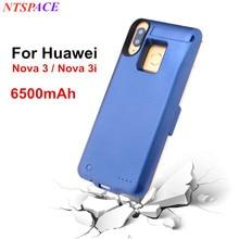 Backup Power bank Charging Case for Huawei Nova 3i Battery Charger Case 6500mAh Portable Powerbank Cover For Huawei Nova 3