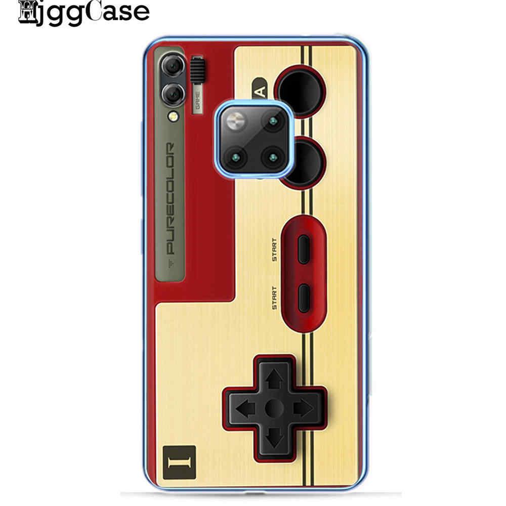 Cổ điển Tape Máy Ảnh Gameboy Advance Trường Hợp Điện Thoại Cho Coque Huawei P8 P9 Lite 2017 P10 P20 P30 Lite Bìa Cho Huawei người bạn đời 20 10 Lite Pro