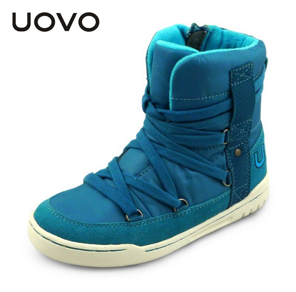 UOVO brand new fashion style children boys and girls shoes high cut winter shoes shoe lace kids sport shoes 3 colour size 28-39