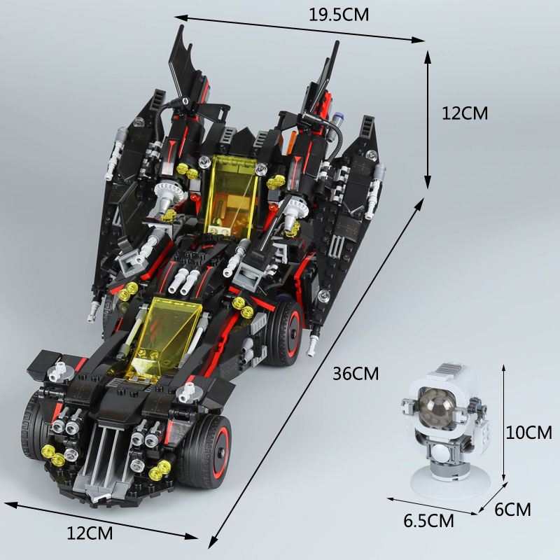 Lepin 07077 Movie Series 1496Pcs The Ultimate Batmobile Action Model Sets Batman LegoINGly 70917 Building Blocks Bricks Toys 1496pcs new super heroes batman the ultimate batmobile set 07077 diy model building blocks toys brick moive compatible with lego