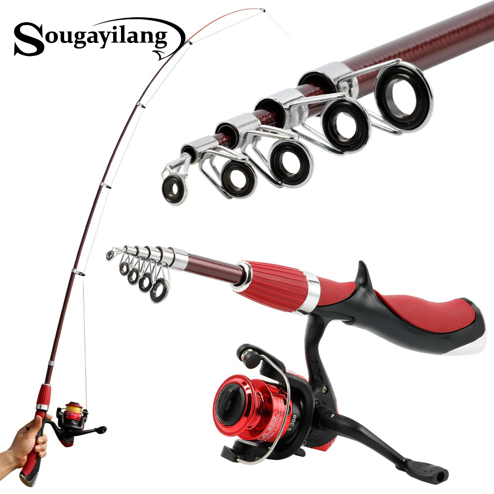 Sougayilang Rod Boat Fishing-Rod Fly-Lure Carbon-Fiber Superhard with High-Quality Tackle-De-Pesca