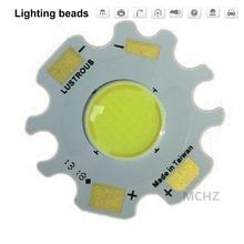 4pcs LED Colloid Lens COB 1000MA Chip Lamp 20W LED Chip DC AC 18V-20.4V Input DIY for Spotlight Beads Warm White Cold White
