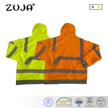 85e9c74e3 Jersey de seguridad de alta visibilidad con forro polar Hi Viz abrigo de  trabajo amarillo