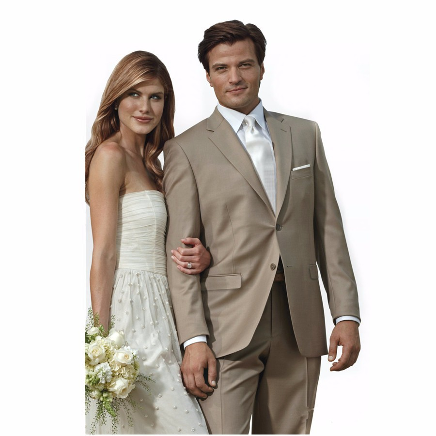Buy wedding suits groom khaki and get free shipping on AliExpress.com