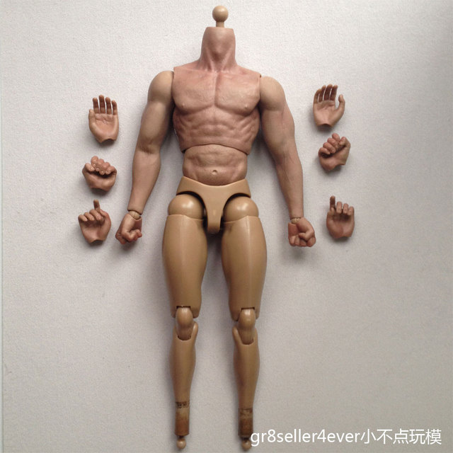 d0c8a6e65c8 1 6 custom Scale Muscular Figure Body Similar to TTM19 For Hot Toys Head  Sculpt