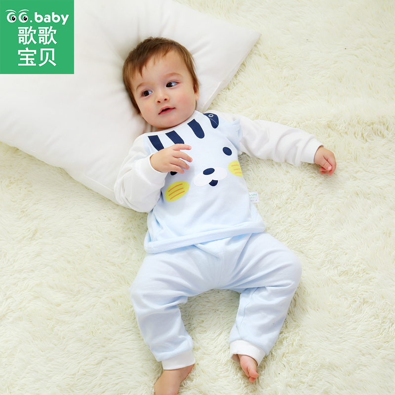 2pcs/set Winter Baby Clothing Sets For Boys Set Clothes Cotton Girl Outfits Long Sleeve Newborn Suits Infant Pajamas Sleepwear