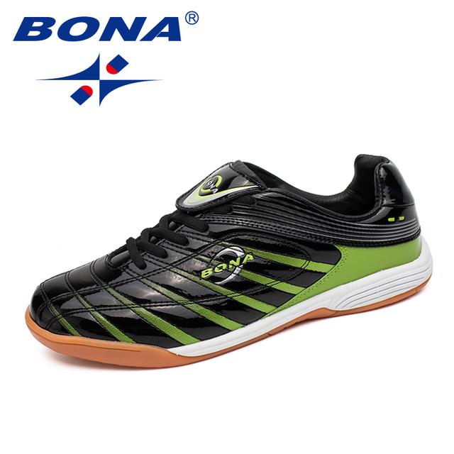 BONA New Classics Style Men Soccer Shoes Lace Up Men Professional Trainer Footfall Shoes Outdoor Jogging Sneakers Free Shipping