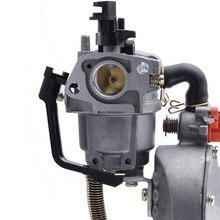 Карбюратор для Honda GX160, 2 кВт, 168F, водяной насос, двойной топливный генератор, бензиновый автомобиль, мотоцикл, снегодувка, аксессуары для бенз...