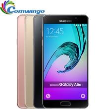 Оригинальный Samsung Galaxy A5 2016 A5100 Разблокирована Сотовых Телефонов 5.2 7-дюймовый Quad Core 13 МП Камера 16 ГБ Smart Dual Sim телефон