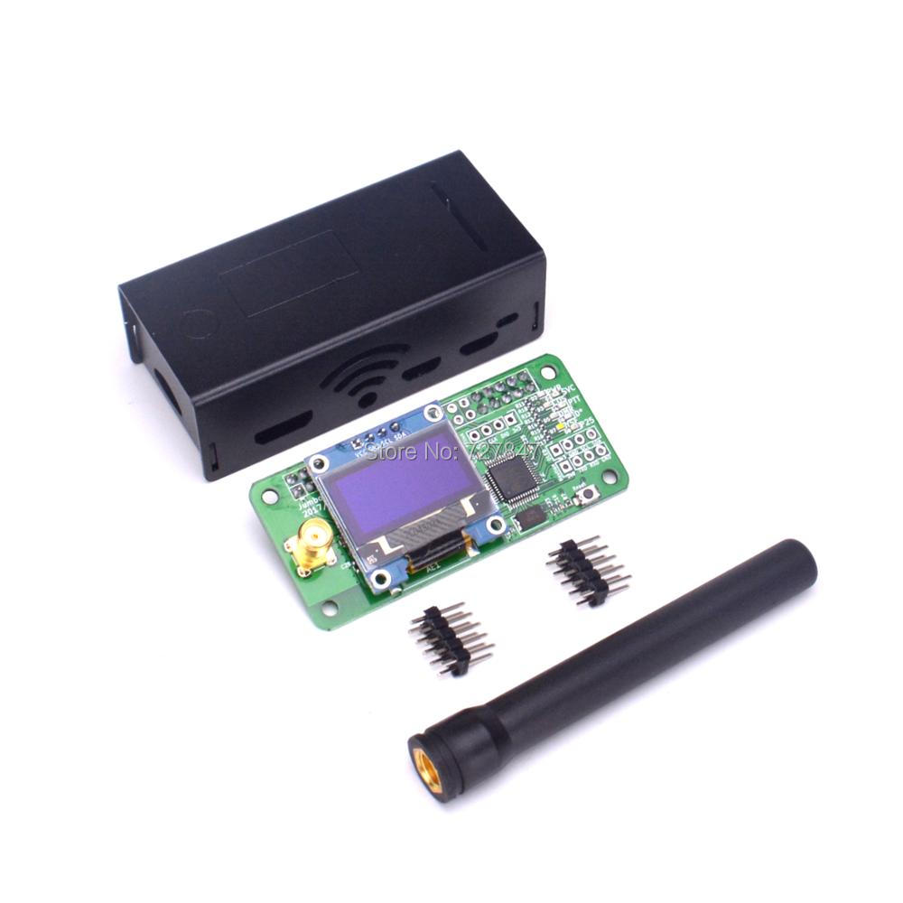 NEW Jumbospot UHF&VHF Antenna + Aluminum Shell MMDVM Hotspot Support P25 DMR YSF for Raspberry Pi(China)