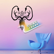 Free shiping DIY vinyl Game of Thrones wall stickers Greyjoy family crest logo bedroom sitting room background