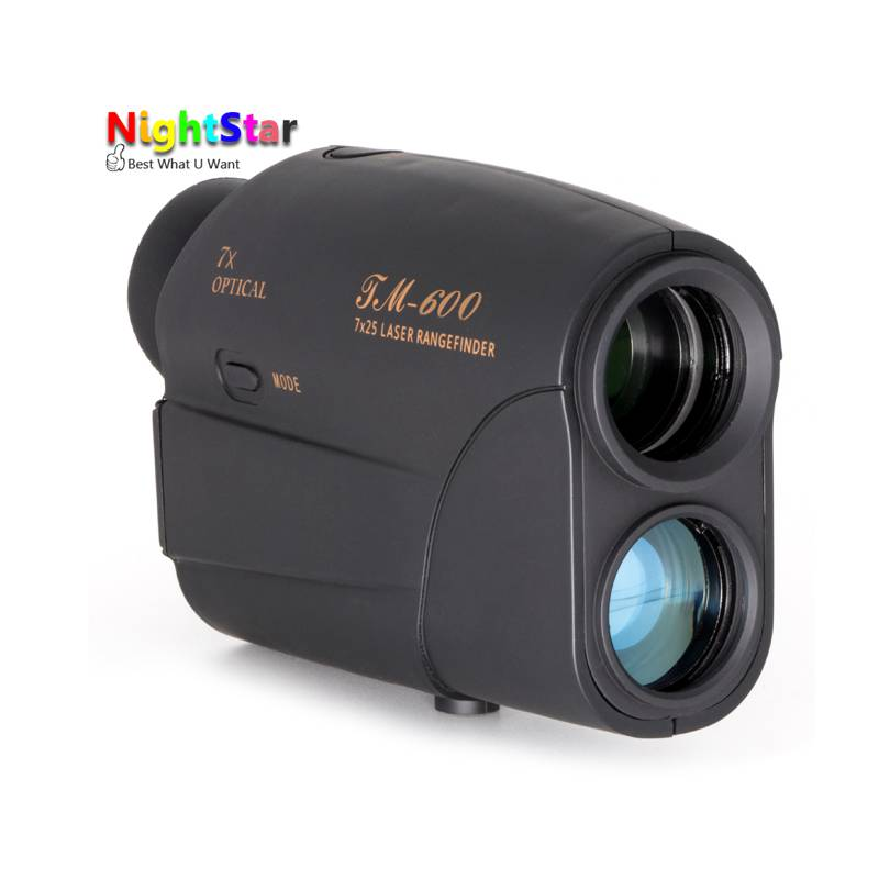 Télescope trena télémètres laser télémètre numérique 7X600 M monoculaire chasse golf laser télémètre ruban à mesurer