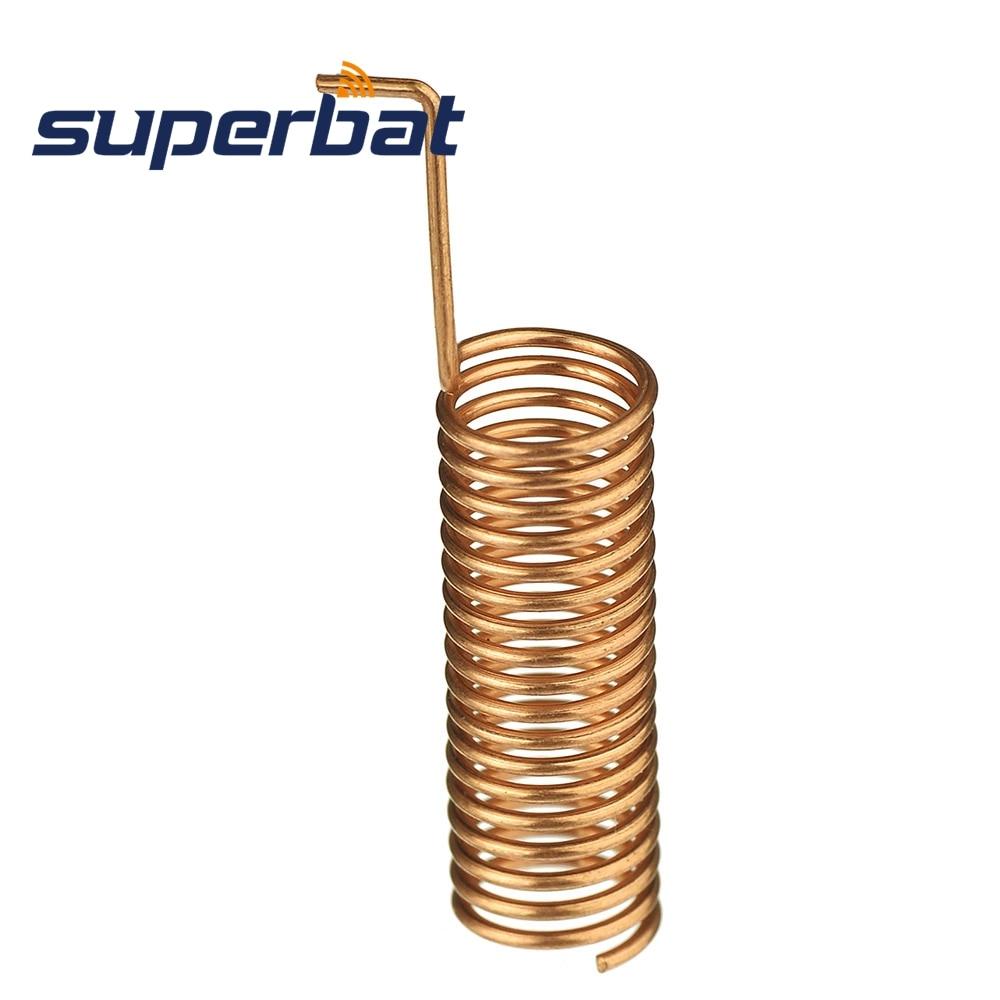 Superbat 10pcs 433MHz 470MHz 490MHz 510MHz 868MHz 2dBi Helical Spiral Spring Remote Control Antenna