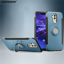 Mate 20 Lite Case For Huawei Mate20 20X Anti-fall With finger ring Holder Phone Back Cover Pro coque