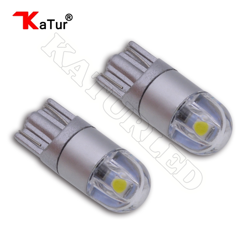 2pcs T10 W5W Led Bulbs Car lamps 168 194 License Plate Light Trunk Lamp Clearance Lights Reading Lamp 12V White Amber/Orange Led 1pcs t10 led w5w 5050 5smd 192 168 194 white lights led car light wedge lamp bulbs super bright dc 12v license plate light drl
