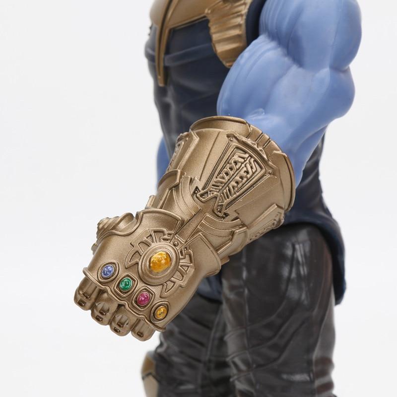 2019 29cm Marvel Captain the Avengers 4 Toys INFINITY WAR Thanos Action Figures TITAN HERO SERIES