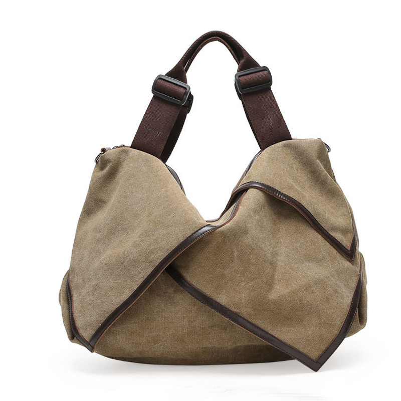 Prix pour Designer sacs à main célèbre marque femmes sacs 2016 Toile Fourre-Tout bandoulière Sacs à Bandoulière Filles Grand messenger voyage sacs Sac à Main