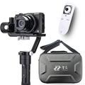 Zhiyun Guindaste M 3-eixo Cardan Handheld Estabilizador + controle remoto para Câmeras DSLR Apoio 650g smartphoen e câmera F19238-A