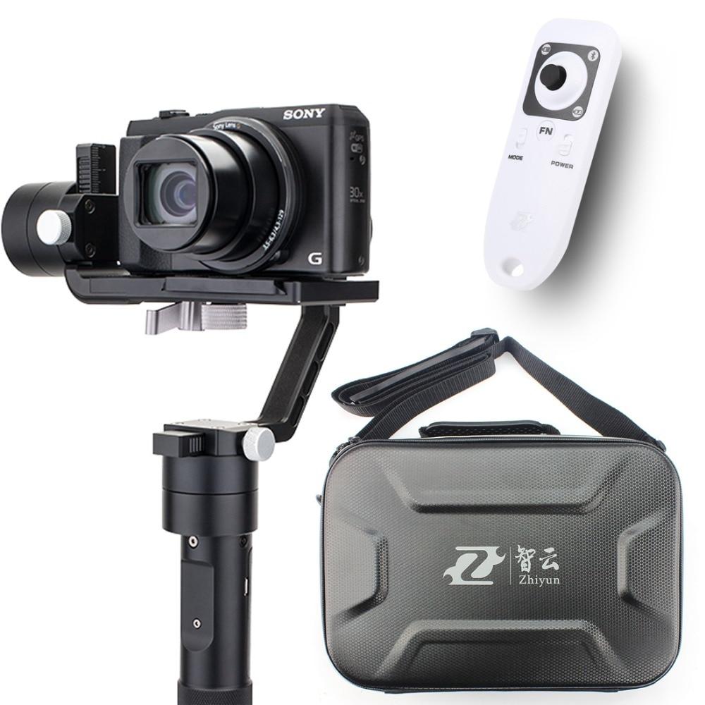 bilder für Zhiyun Kran M 3-achs Hand Stabilizer Gimbal + fernbedienung Fall für DSLR Kamera Unterstützung 650g Smartphone Kamera F19238-A