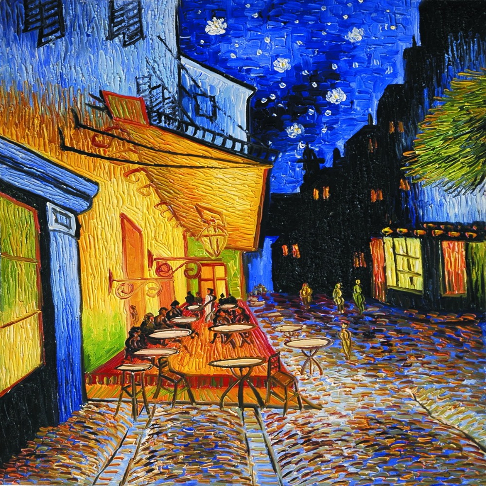 Buy high quality canvas printed painting for Van gogh paintings locations