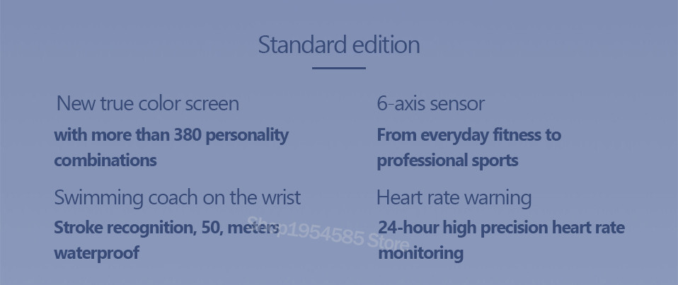 Xiaomi Mi Band 4 Smart Watch Standard Version Heart Rate Activity Fitness Tracker Smart Band Bracelet Colorful Display 2019 New (13)