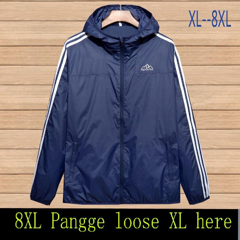 9XL 8XL 7XL spring and autumn font b men s b font font b jacket b