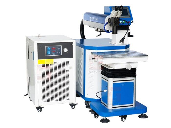 Bonne qualité machine de soudure de laser de réparation de moule de fer en aluminium de 300 W 400 W pour l'acier inoxydable