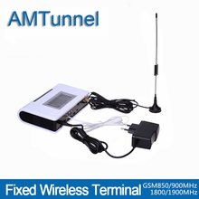 Gsm desktop phone GSM FWT fixed wireless terminal gsm terminal telefone fixo Quad band with LCD PABX GSM PBX(China)