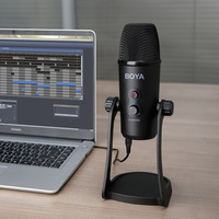 BOYA BY-PM700 профессиональный конденсаторный звук профессиональный микрофон для ПК ноутбук Skype, MSN Караоке Музыка микрофон конференц-связи