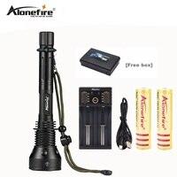 AloneFire X280 T6 Flashlight 3800 Lumens CREE XM L T6 LED Flashlight 18650 Torch Extended Tube