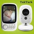 3,2 pulgadas Color Video Monitor de bebé de alta resolución bebé niñera de seguridad cámara de visión nocturna de control de la temperatura