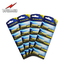 20pcs/4pack Wama New 32A 9V Primary Dry Batteries L822 LR32 29A High quanlity access control talking pen Drop shipping