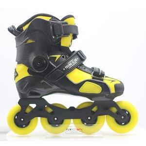 Image 4 - 100% Original 2019 SEBA IGOR2 MST JUNGES Rutsche Erwachsene Inline Skates Roller Skating Schuhe Flache Rahmen Slalom Schiebe FSK Patines