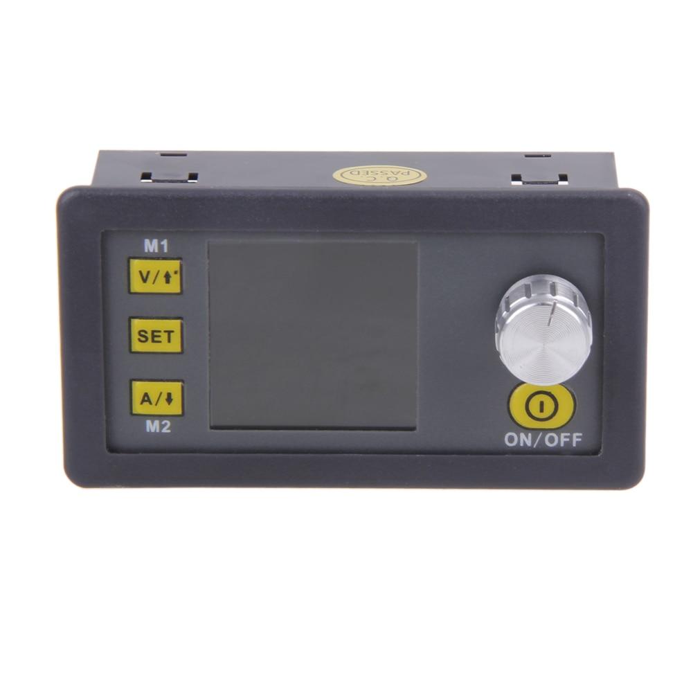 LCD Voltmeter Ammeter 0V-50V 0-15A Constant Voltage Current Step-down Programmable Power Supply Module rd digital step down power supply programmable constant voltage current power source module voltmeter ammeter buck converter